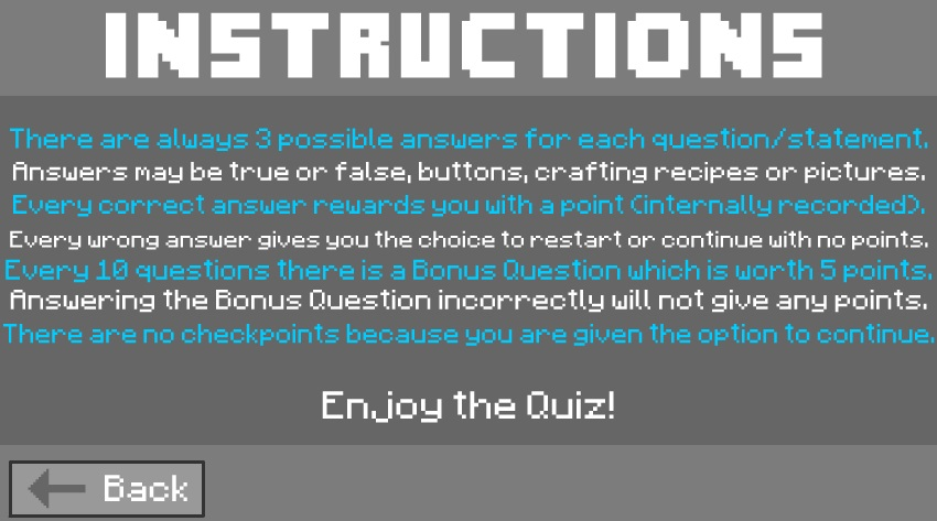 021-The-Minecraft-Quiz-3-Instructions