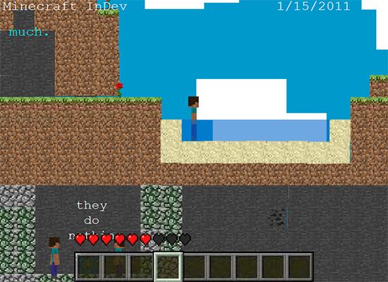Minecraft Goes Through Stone - Minecraft boy
